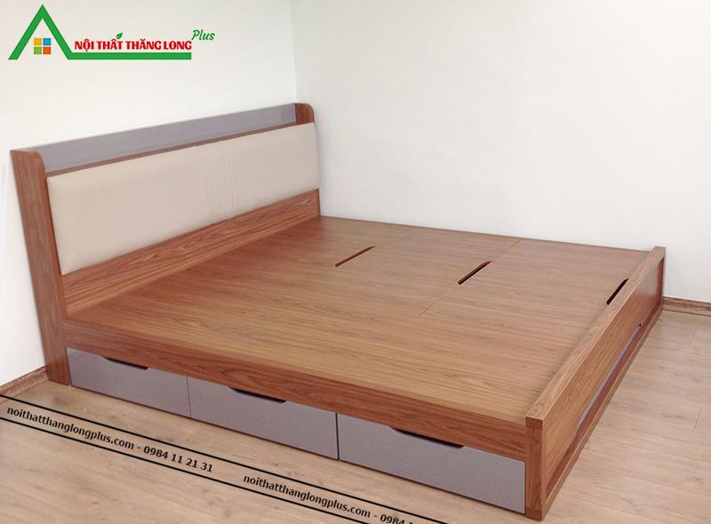 Giường ngủ thông minh có ngăn kéo 1m6 x 2m-4