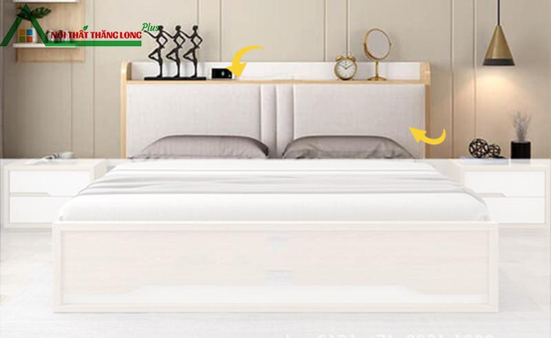Giường ngủ đa năng có ngăn kéo hiện đại 1m6 x 2m-5