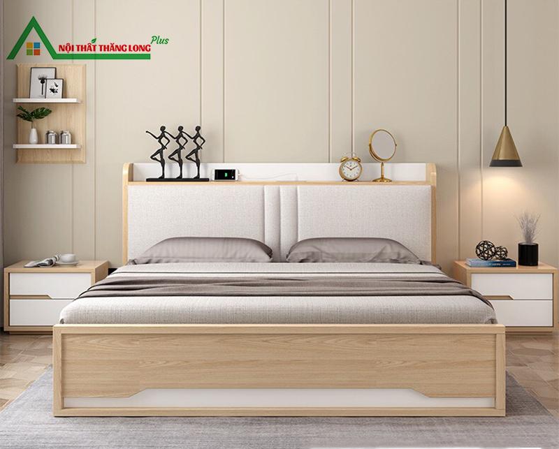 Giường ngủ đa năng có ngăn kéo hiện đại 1m6 x 2m-2
