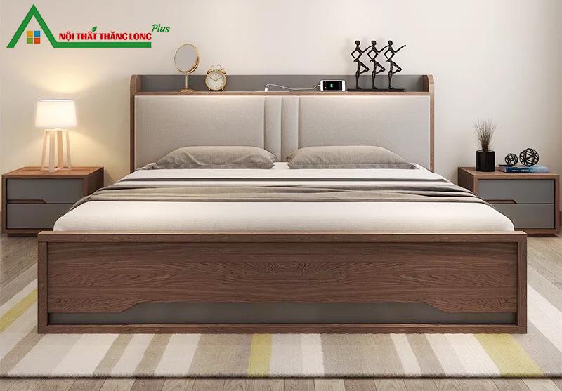 Giường ngủ thông minh có ngăn kéo 1m6 x 2m-1