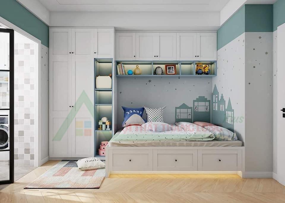 Phòng ngủ thông minh cho bé