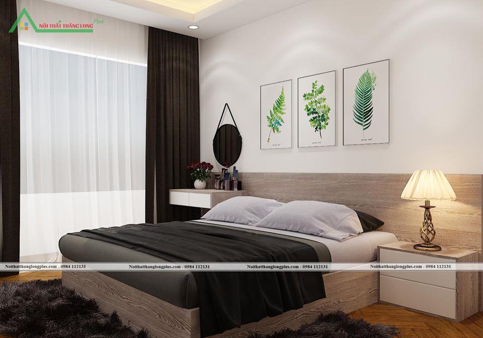 Nội thất phòng ngủ cá tính mạnh mẽ