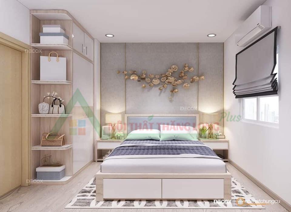 Điểm nhấn của nội thất phòng ngủ với chiếc giường đa năng