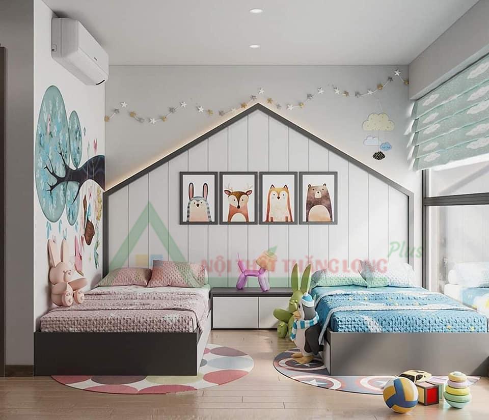 Thiết kế Nội thất phòng ngủ dành cho bé
