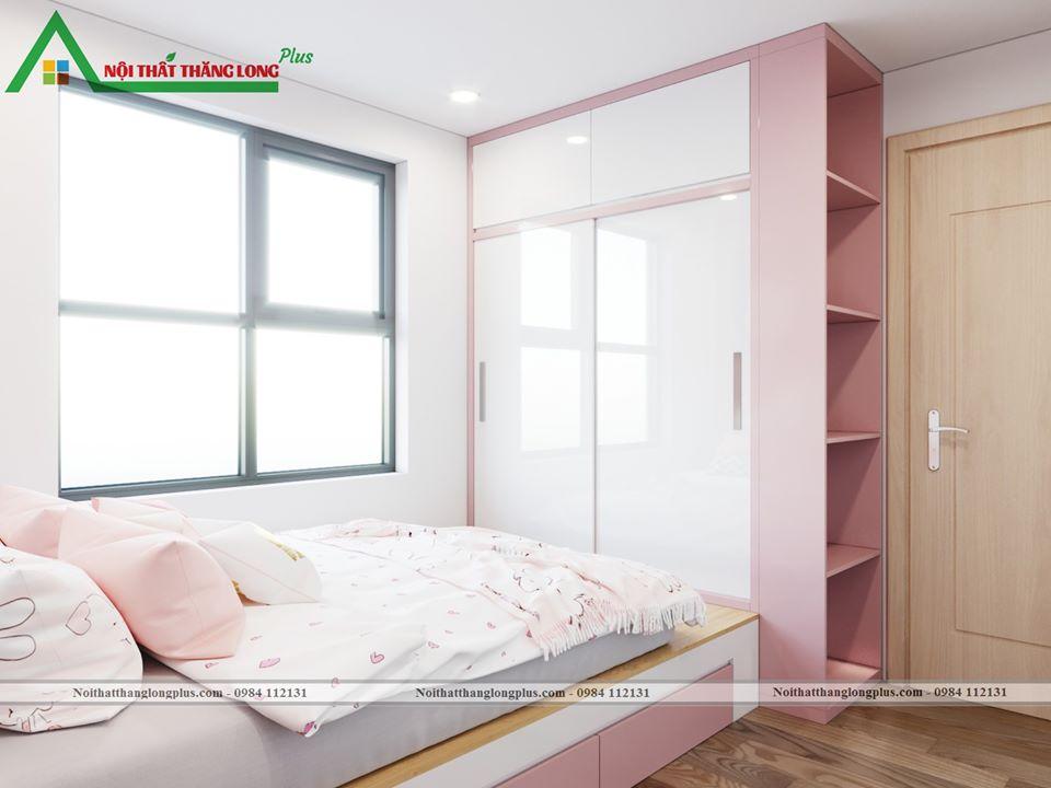 Nội thất dành cho không gian phòng ngủ nhỏ