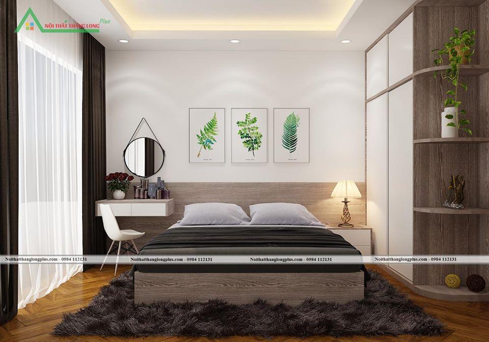 Thiết kế Nội thất phòng ngủ với phong cách mới lạ