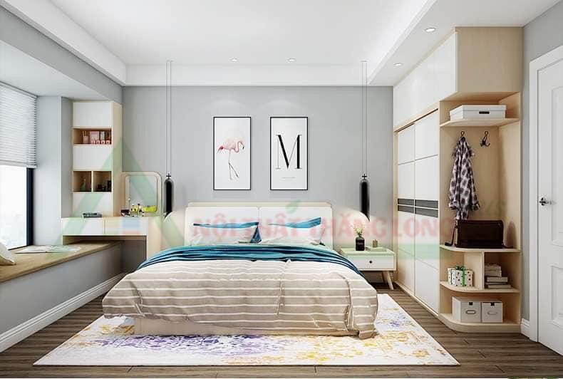 Nội thất phòng ngủ mang phong cách cá tính