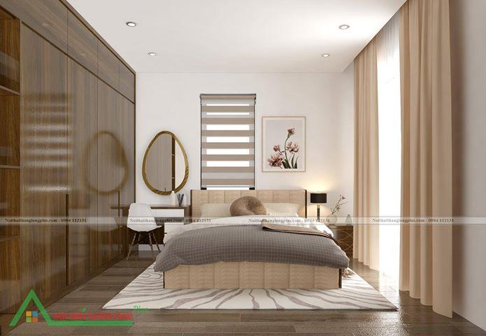 Nội thất phòng ngủ mang không gian ấm cúng