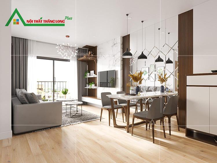 Thiết kế Nội thất chung cư phòng ăn