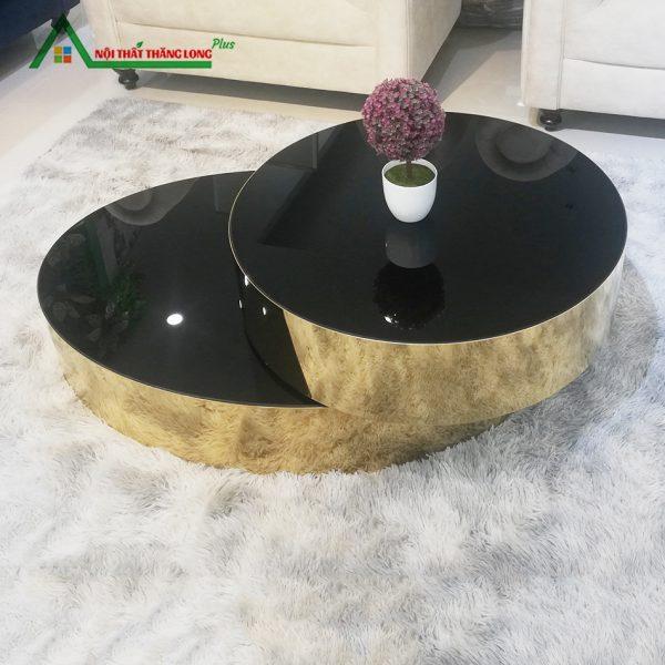 bàn trà mạ vàng cao cấp