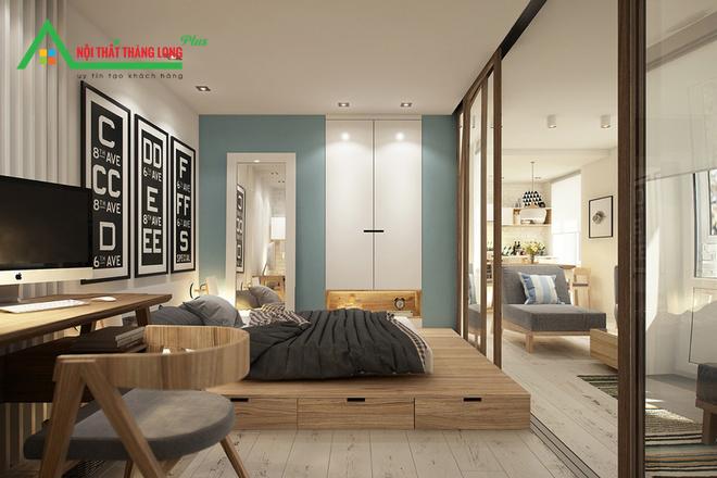 Phòng ngủ trong studio