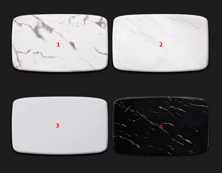 Mẫu mặt bàn ăn hình chữ nhật