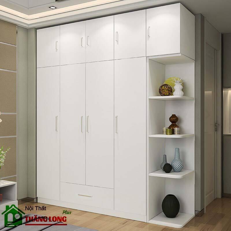 Tủ quần áo thông minh với thiết kế âm tường