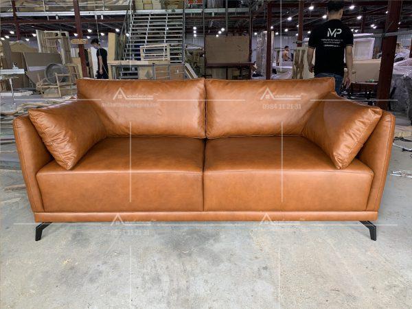 Ghế sofa với chất liệu Da cao cấp