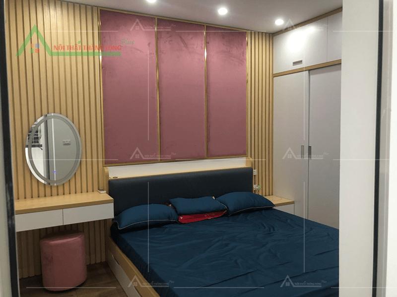 Thiết kế nội thất phòng ngủ đầy tiện nghi