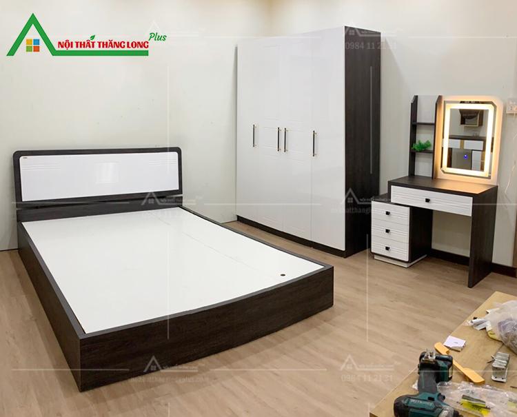 giường tủ gỗ công nghiệp