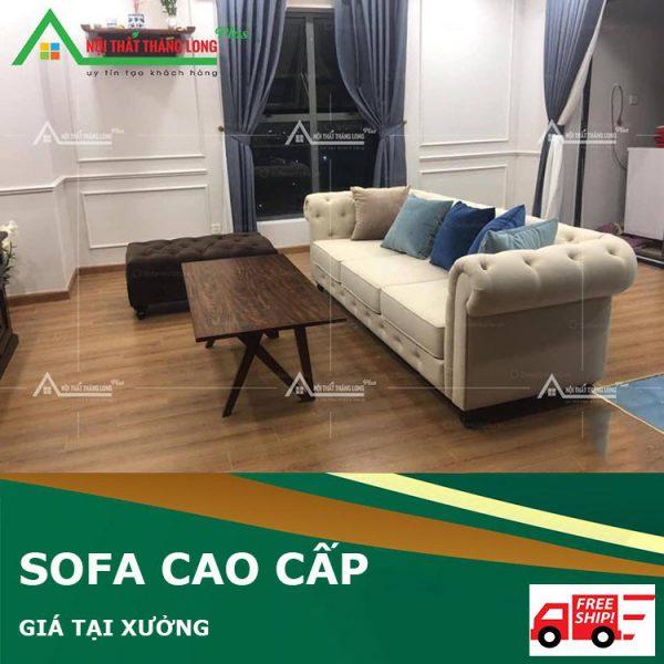 Ghế sofa phòng khách dành cho không gian nhỏ
