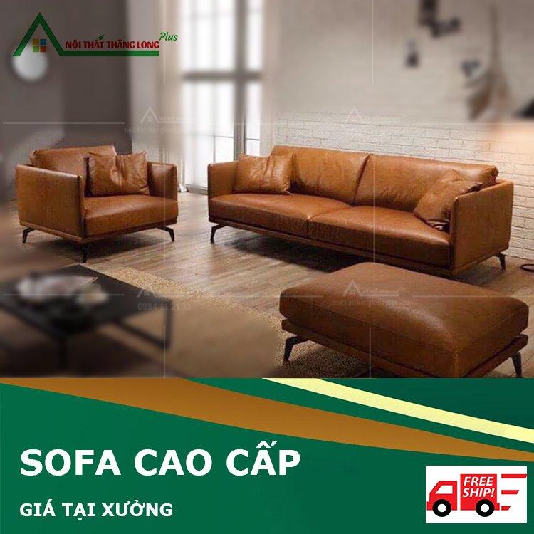 Ghế sofa phòng khách phong cách hiện đại