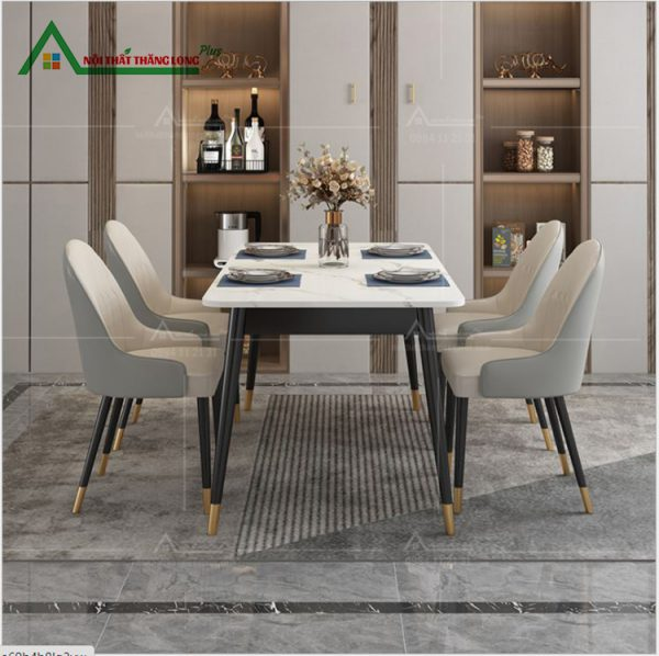 mẫu bàn ăn 4 ghế nhập khẩu