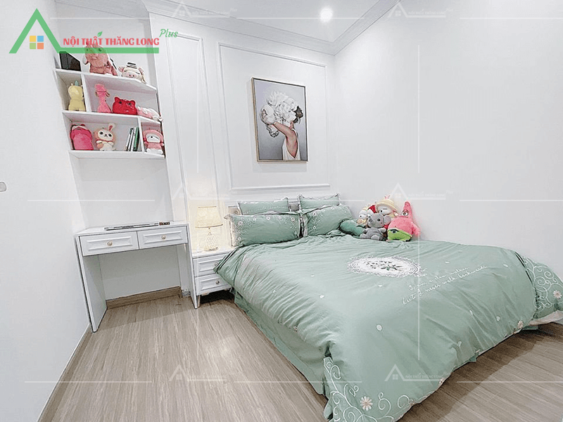 Nội thất phòng ngủ không quá cầu kì mang đến sự thoáng mát