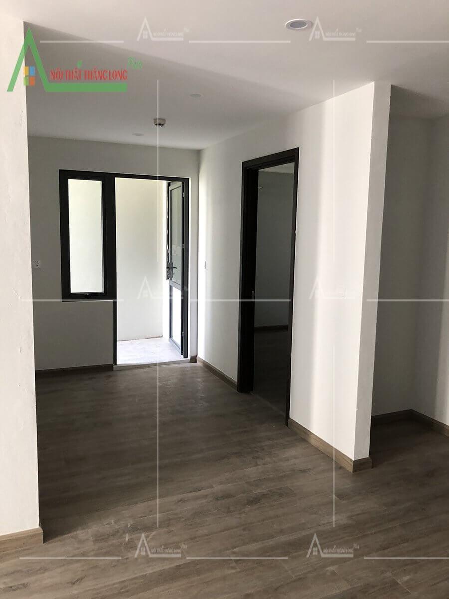 Không gian căn hộ khi chưa thiết kế nội thất