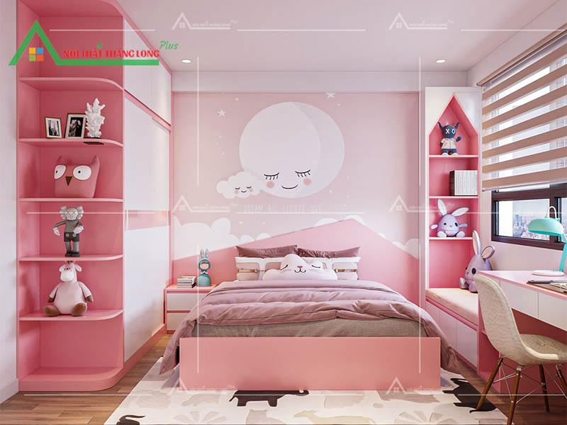 Thiết kế thi công nội thất chung cư phòng ngủ