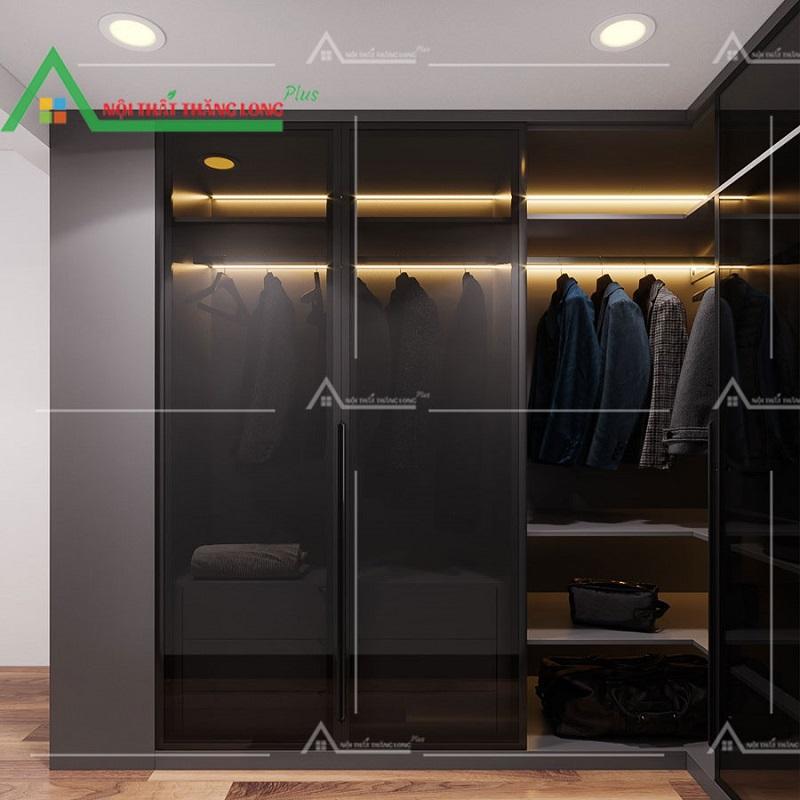 Tủ quần áo nhiều ngăn giúp cho sự tiện lợi