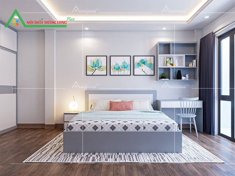 Không gian nội thất thoáng mát tạo