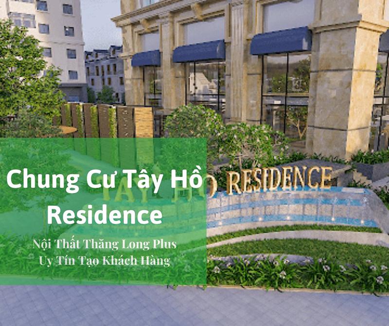 Thiết kế nội thất chung cư Tây Hồ Residence