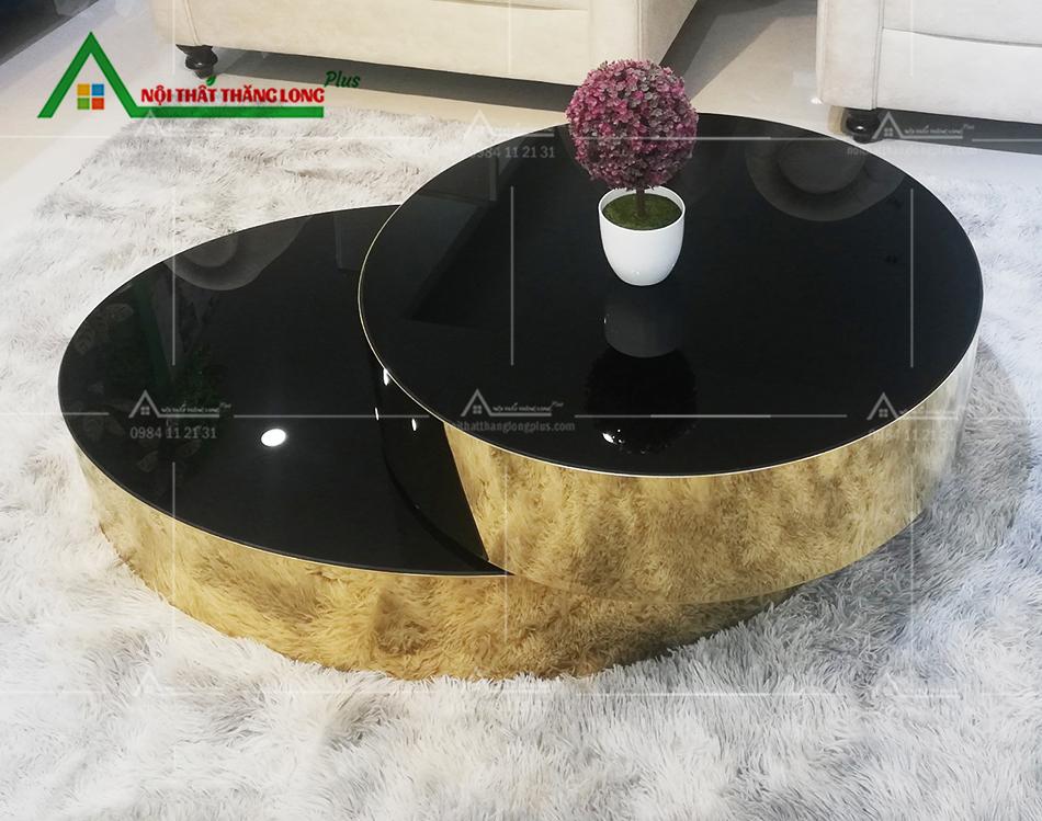 mẫu bàn trà hình tròn cao cấp